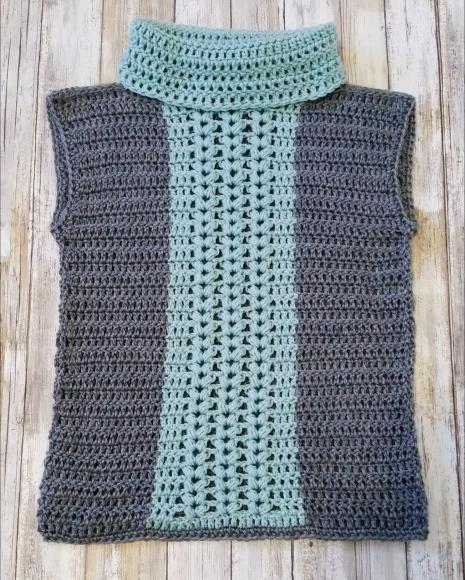 Easy Crochet Vest - Free Pattern - Cashmere Dandelio