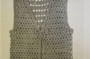 Easy to Make Crochet Vest   Crochet vest pattern, Crochet .