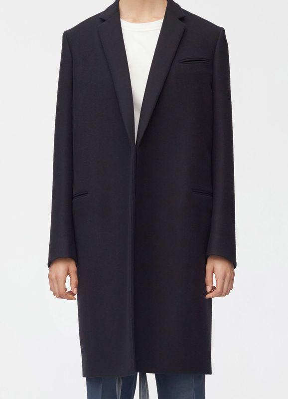Crombie coat in double face wool   CÉLINE   Crombie coat, Celine .