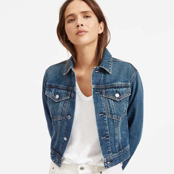 10 Best Cropped Denim Jackets   Rank & Sty