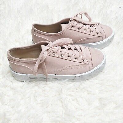 Divided H&M 5.5 pink platform sneakers shoes Cute Tennis Shoes | eB