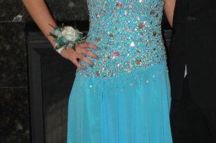 Dresses by DEB Dresses   Deb Prom Dress Blue   Poshma