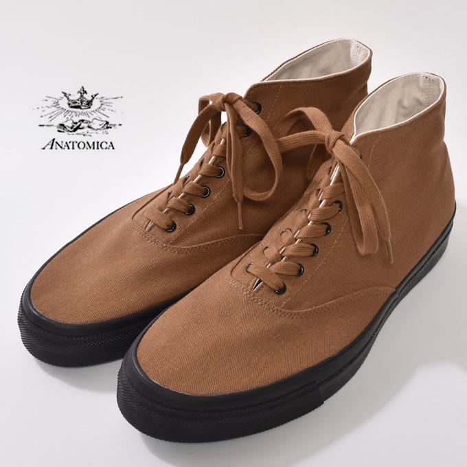 cott: Mika Anato WAKOUWA ワクワ DECK SHOES HIGH deck shoes high .