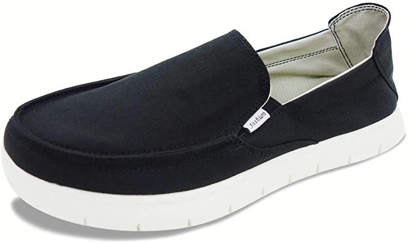 Amazon.com   Boat Shoes Men Deck-Canvas-Loafers-Slipon-for Mens .