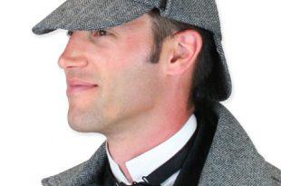 Baskerville Deerstalker Hat - Gr