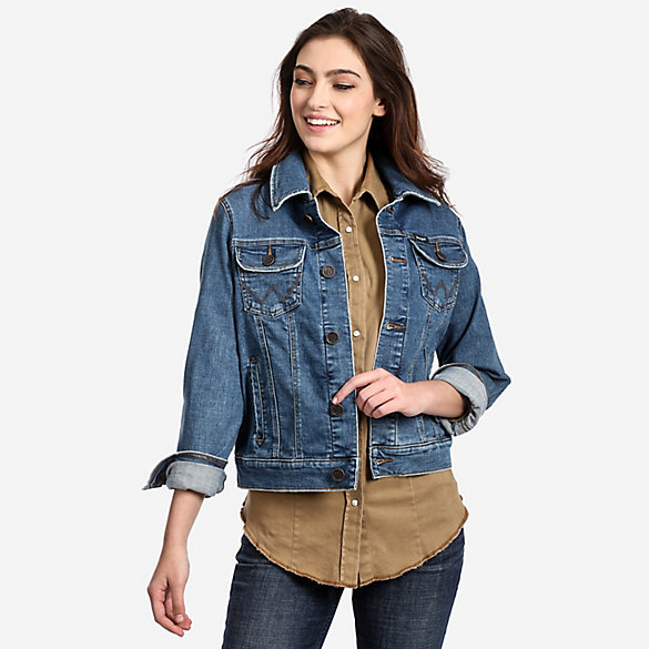 Women's Fashion Denim Jacket | Womens Jackets and Outerwear by .