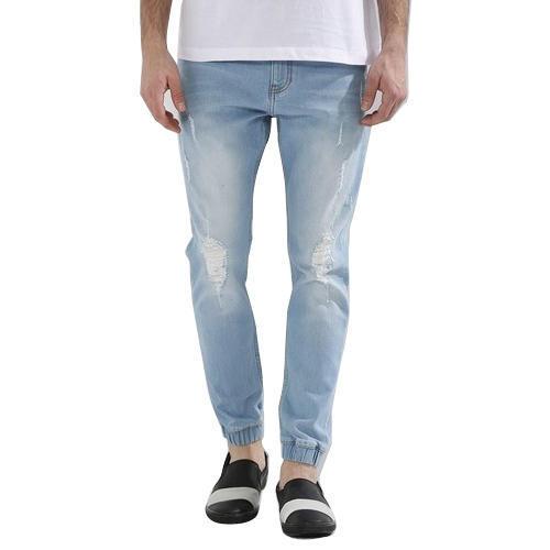 Pantalon de jogging en denim pour homme, जॉगर पतलून - K Neel Creation.