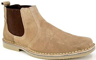 Amazon.com   Roamers Mens M765 Taupe Suede New Mens Desert Boots .