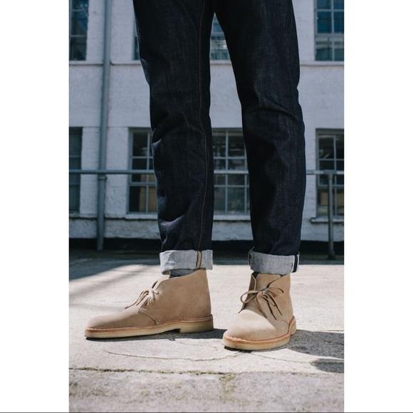 Clarks Shoes   Mens Desert Boots   Poshma
