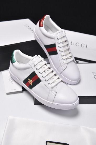 China New Genuine Leather Flats Designer Sneakers Men Women .