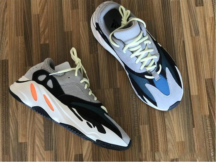 China 2019 Mauve 700 Wave Runner Mens Women Designer Sneakers New .