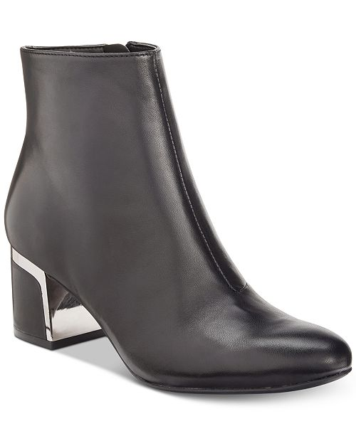 DKNY Corrie Ankle Booties, Created For Macy's & Reviews - Boots .