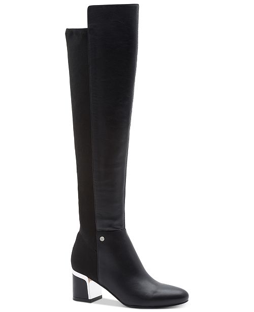DKNY Cora Wide Calf Boots, Created for Macy's & Reviews - Boots .