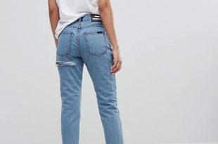 Dr Denim High Waist Mom Jeans   AS