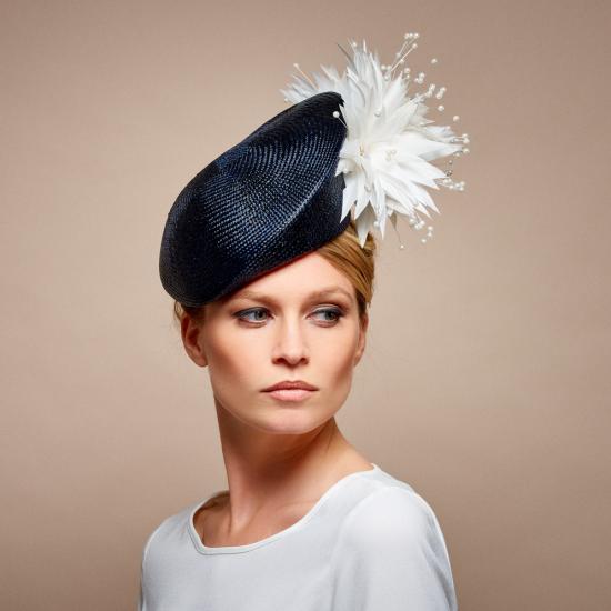 Marcella | Dress hats, Wedding hats, Philip treacy ha