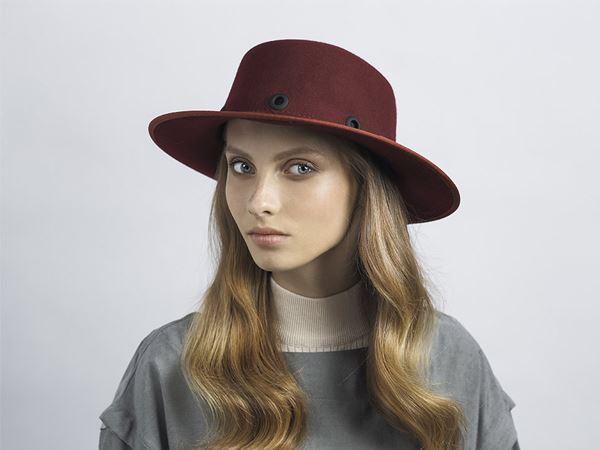 Felt Fashionable Hat WIL – Justine ha