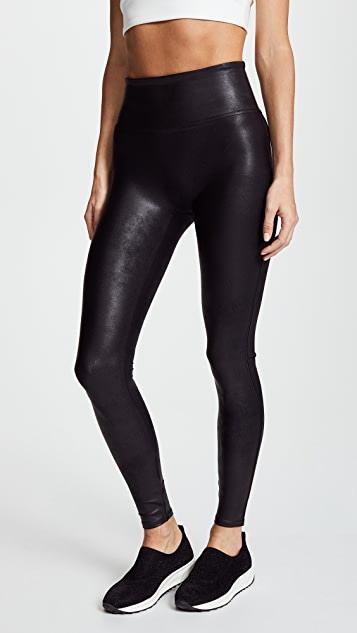 SPANX Faux Leather Leggings   SHOPB