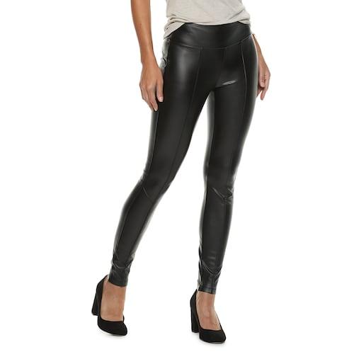 Women's Rock & Republic® Faux-Leather Leggin