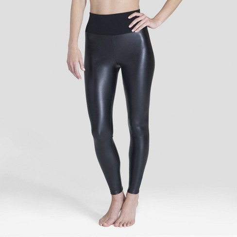 Assets By Spanx Women's All Over Faux Leather Leggings : Targ