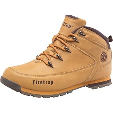 Mens Firetrap Blaze Boots Wheat/Brown Guys Gents (6 UK 6 EUR 40 .