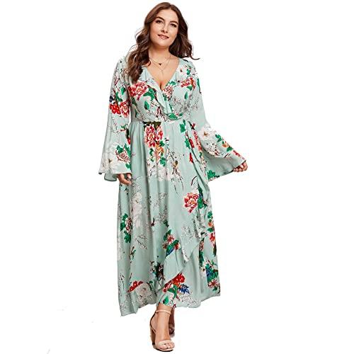 Flowy Plus Size Dresses: Amazon.c