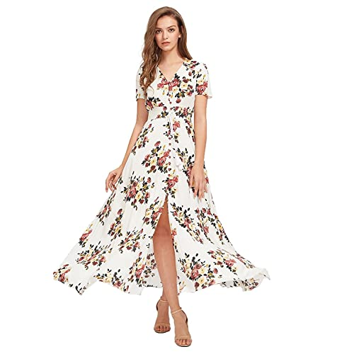 Long Flowy Dress: Amazon.c
