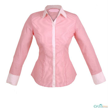 Buy Pale Pink Women Formal Shirts, Work Uniforms In Sydn