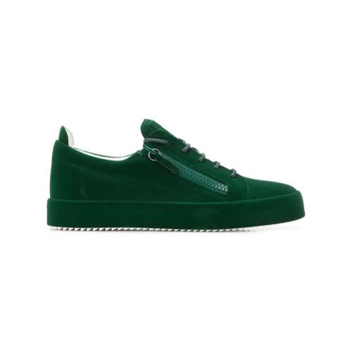 Giuseppe Zanotti Design Frankie Low Top Sneakers, $772   farfetch .