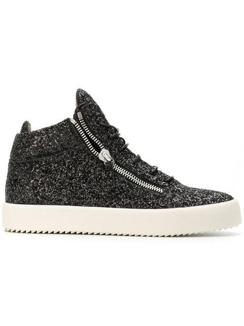 Giuseppe Zanotti Glitter Kriss Sneakers Ss20   Farfetch.c