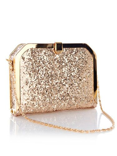 Navy night out | Glitter clutch bag, Bags, Purs