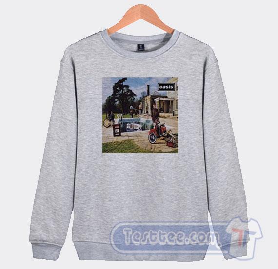 Oasis Be Here Now Graphic Sweatshirt | Oasis Shirt | Testtee.c