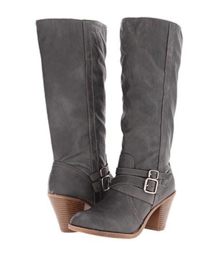 Insomniac Sale Picks: Edgy Gray Boots - Already Pretty | Where .