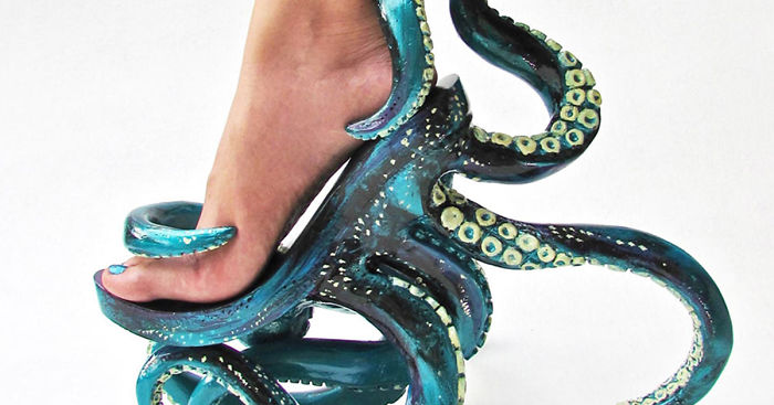 Tentacle High Heels And Other Crazy Shoes By Filipino Designer .