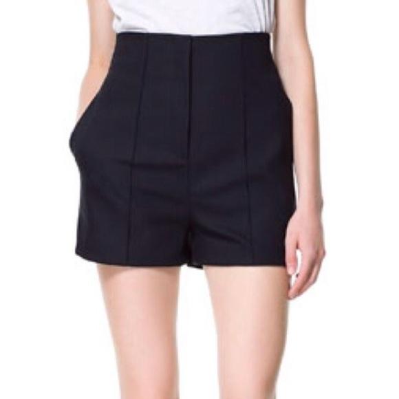 Zara Shorts | High Waist | Poshma