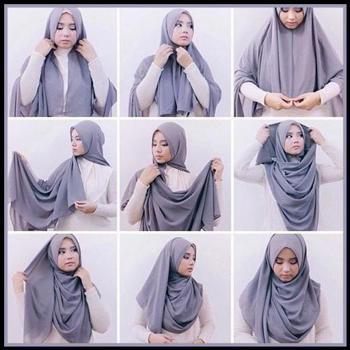 Hijab Styles Step by Step 2019 for Android - APK Downlo