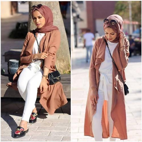 Hijab style summer 2018     Just Trendy Gir