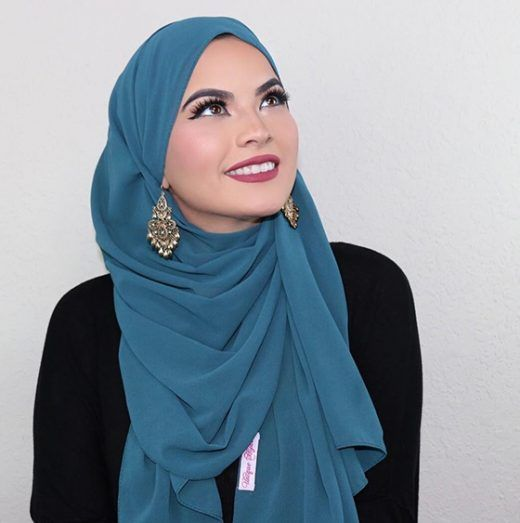 How To Wear Hijab Styles Step By Step In 28 Different Ways in 2020 .