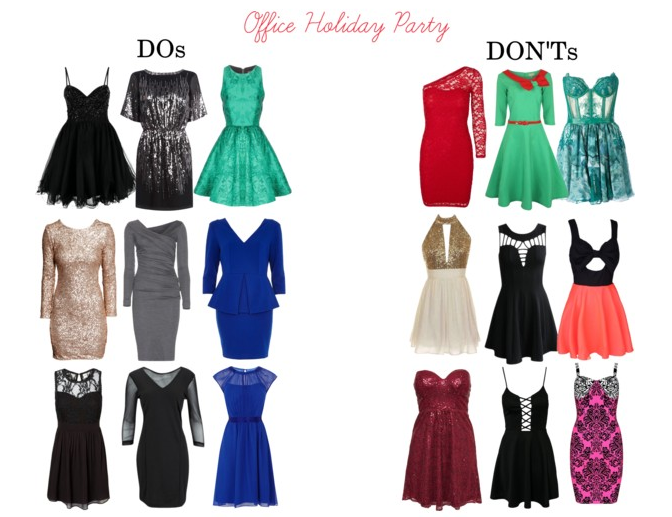 The Striped Flamingo: #TBT - Office Holiday Party Dress Do's and .