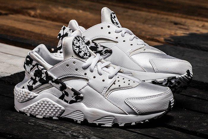 Nike Air Huarache Run Wmns (Silver/Arctic Camo) - Sneaker Freak
