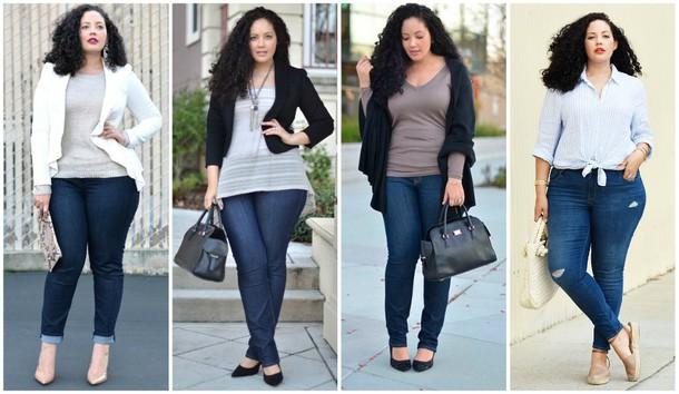 jeans, filles courbes, meilleurs jeans pour femmes courbes, jeans pour courbes.