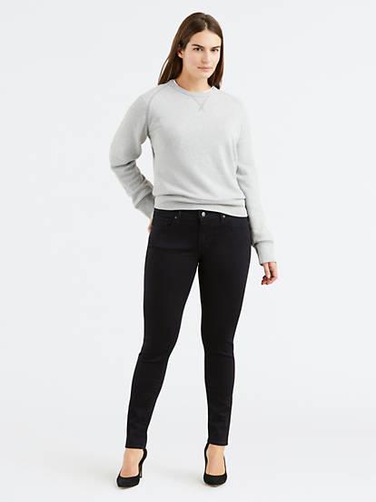 Curvy Skinny Women's Jeans - Black | Levi's®