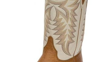 Amazon.com | Justin Boots Company Mens Pascoe Smooth Ostrich 13in .
