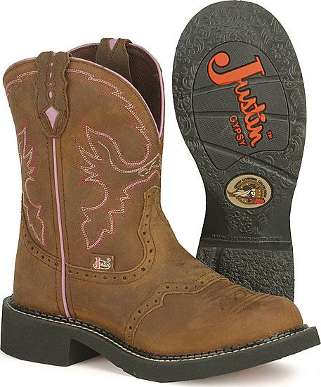 Aged Bark Gypsy® by Justin® Boots - Jacksons Western Sto