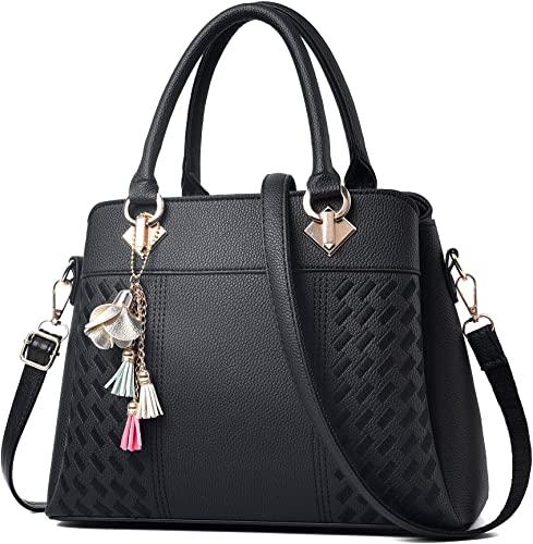 Amazon.com: Womens Purses and Handbags Ladies Designer Satchel .