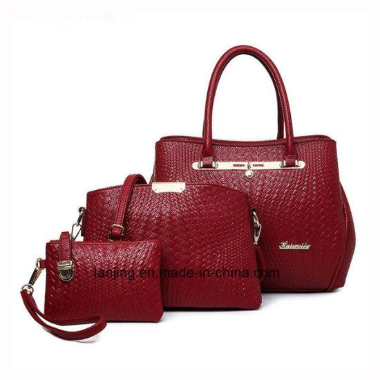China Amazon Hot Sale New Designer 3pieces Women Bag Set Ladies .