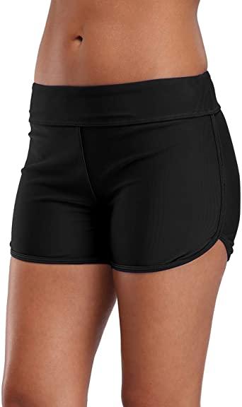 Amazon.com: vivicoco Women's Boyleg Swim Shorts Full Coverage .