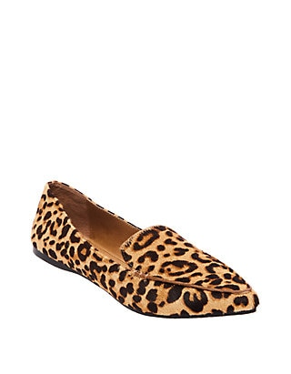 Steve Madden Feather Leopard Flats   be
