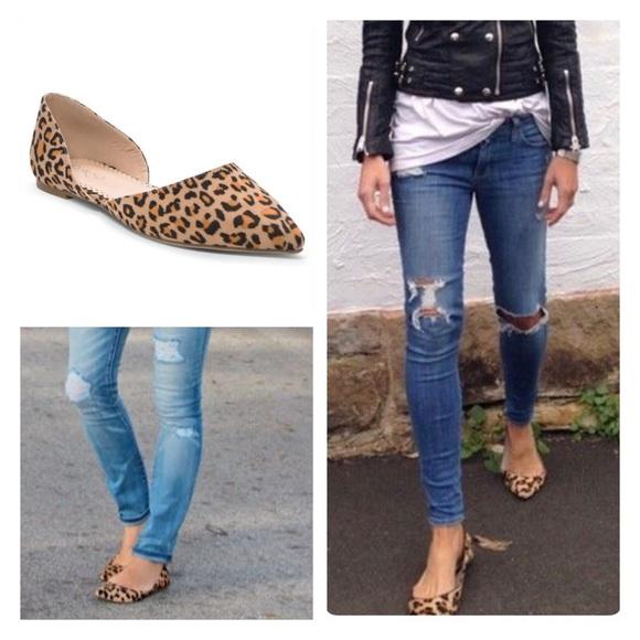 Shoes   Soon Vegan Leopard Flats Red Flats Black Flats   Poshma