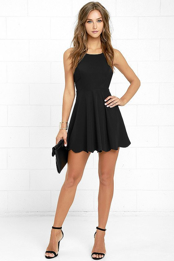 Play On Curves Black Backless Dress   Cute dresses, Homecoming .