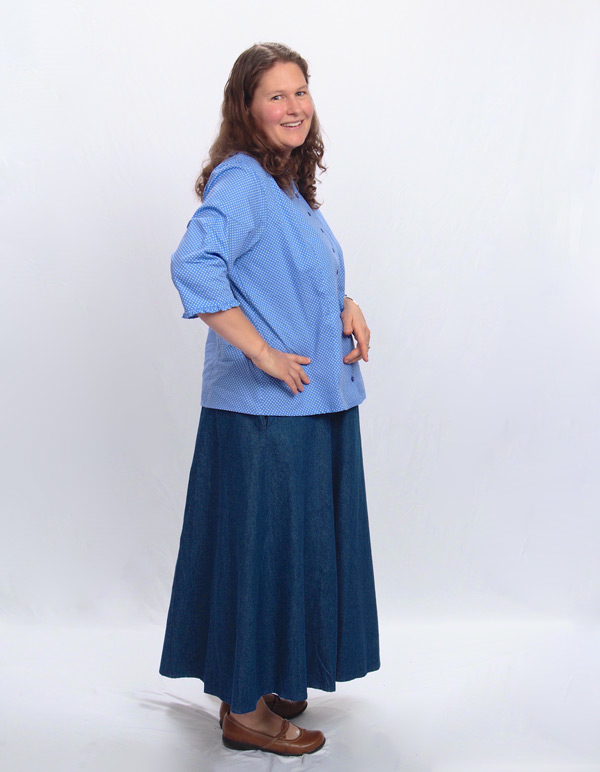 Long Denim Skirts For Women Are Made To Be Your Everyday Pic